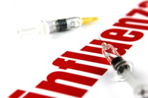 influenza-red-letters