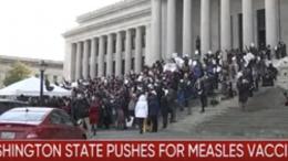 vaccine rally washington